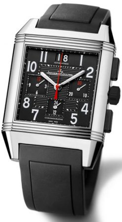 Jaeger-LeCoultre Reverso Squadra Chronograph Stainless Steel Men's Watch, preowned.230.8.45 preowned.230.8.45