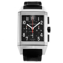 Jaeger-LeCoultre Reverso Squadra Chronograph Stainless Steel Men's Watch preowned.230.8.45