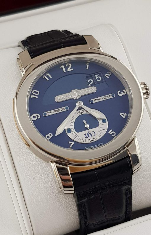 Ulysse Nardin Anniversary 160 Limited Edition 18K White Gold Men`s Watch, preowned.1600-100 2