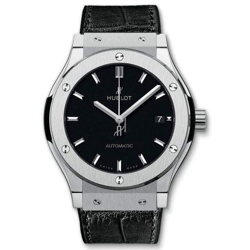 Hublot Classic Fusion Automatic Titanium Men's Watch, 565.NX.1171.LR