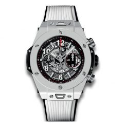 Hublot Big Bang Unico Automatic Ceramic Chronograph Rubber Men's Watch 411.HX.1170.RX
