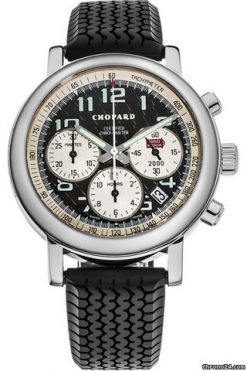 Chopard Mille Miglia Chronograph WG Limited Edition Men`s Watch preowned.16/1251