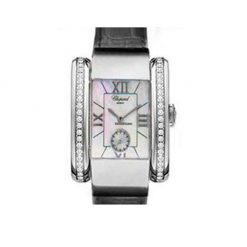Chopard La Strada 18K White Gold Diamonds Ladies Watch preowned.41/6861-8