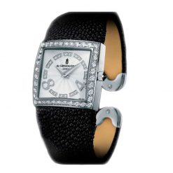 De Grisogono Piccolina 18K White Gold Diamonds Stingray Ladies Watch preowned.Piccolina-S05-M