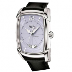 Parmigiani Kalpa XL Steel Stainless Steel Leather Men`s Watch preowned.PF011930.01