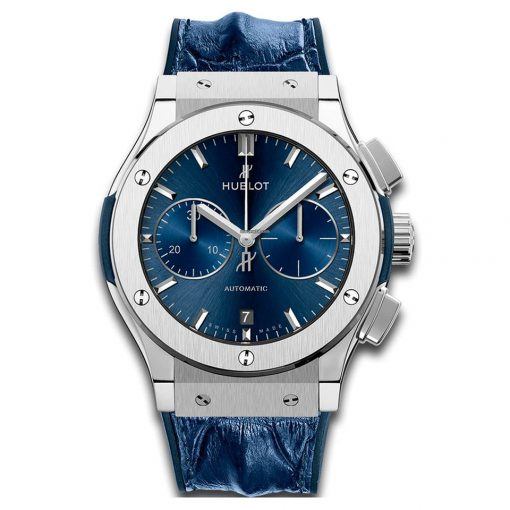 Hublot Classic Fusion Chronograph Titanium Men's Watch, 521.NX.7170.LR