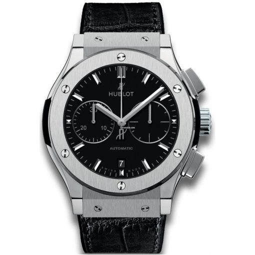 Hublot Classic Fusion Chronograph Titanium Men's Watch, 521.NX.1171.LR