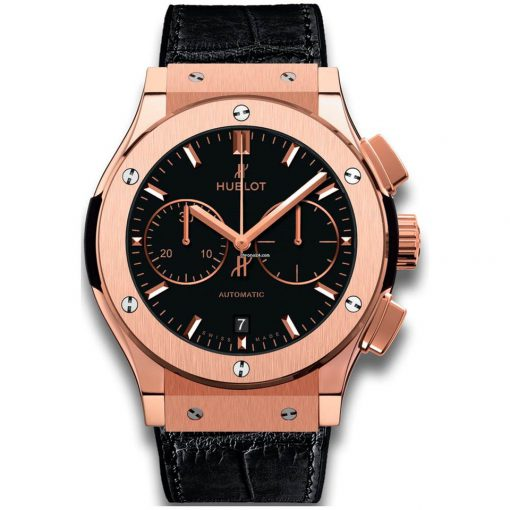 Hublot Classic Fusion Chronograph 18K King Gold Men's Watch, 521.OX.1181.LR
