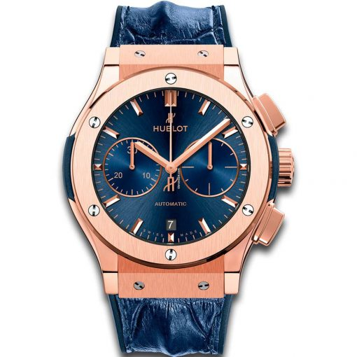 Hublot Classic Fusion Chronograph 18K King Gold Men's Watch, 521.OX.7180.LR