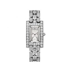Harry Winston Avenue Classic 18k White Gold Diamonds Ladies Watch AVEQHM21WW285