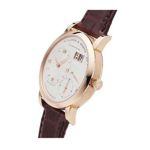 A. Lange and Sohne Lange 1 Power Reserve 18K Yellow Gold Leather Men's Watch, 191.032 2