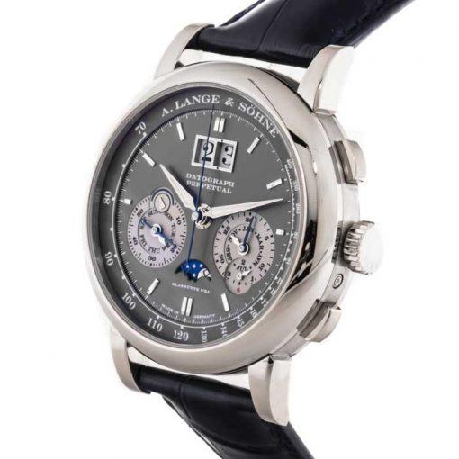 A. Lange and Sohne Datograph Perpetual  White Gold Men's Watch, 410.038 2