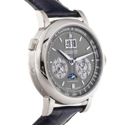 A. Lange and Sohne Datograph Perpetual  White Gold Men's Watch, 410.038 5