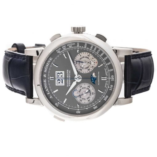 A. Lange and Sohne Datograph Perpetual  White Gold Men's Watch, 410.038 4