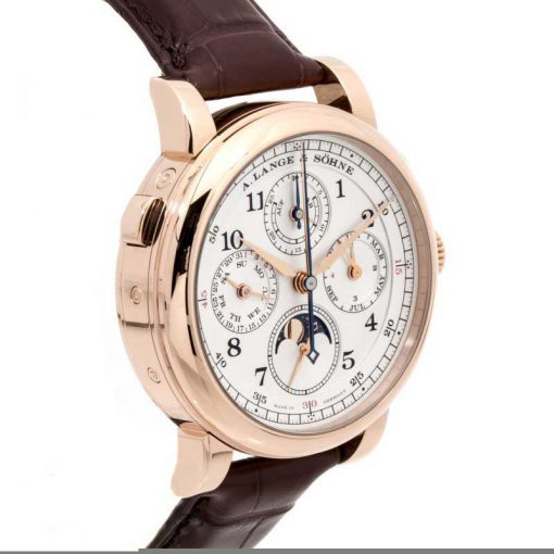 A. Lange and Sohne 1815 Rattrapante Perpetual Calendar 18k Rose Gold Men's Watch, 421.032 4