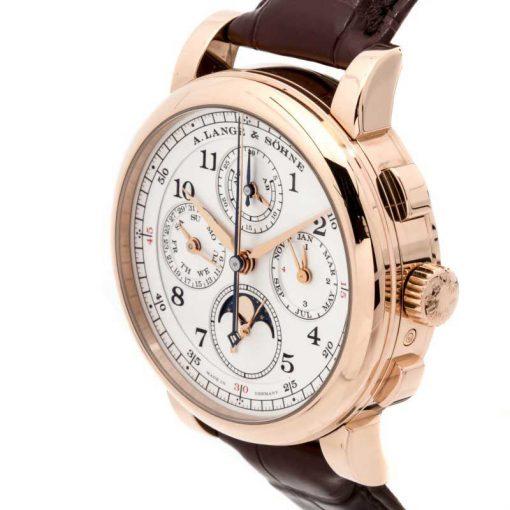 A. Lange and Sohne 1815 Rattrapante Perpetual Calendar 18k Rose Gold Men's Watch, 421.032 3