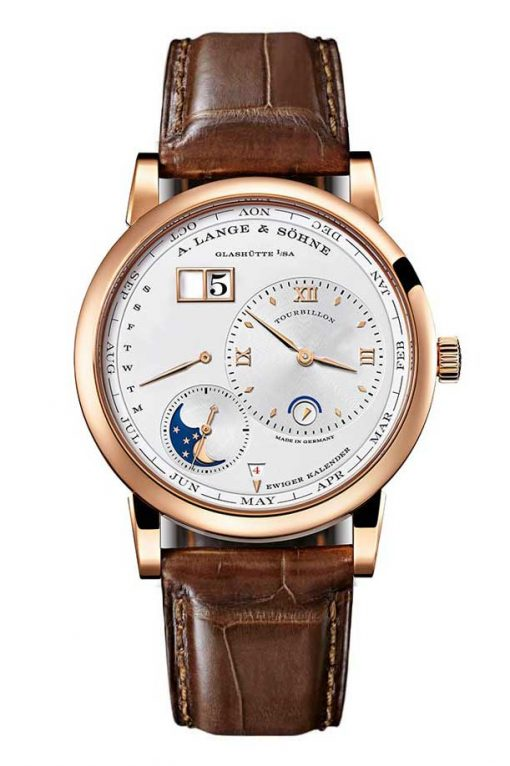 A. Lange & Söhne Lange 1 Tourbillon Perpetual Rose Gold Men's Watch, 720.032FE