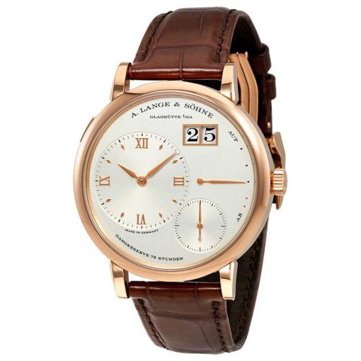 A. Lange & Sohne Grand Lange 1 Power Reserve 18k Rose Gold Men's Watch, 117.032