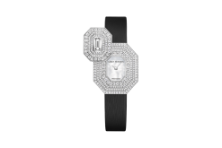 Harry Winston Emerald Signature 18K White Gold Diamonds Ladies Watch 542/LQWL.M/02-(HJTQHM24WW005)