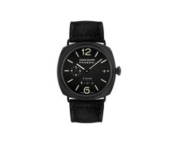 Officine Panerai Historic Radiomir 8 Days Ceramic Men's Watch PAM00384