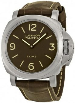 Officine Panerai Luminor Acciaio Titanium Men's Watch PAM00562