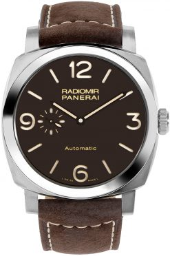 Officine Panerai Radiomir 1940 3 Days Polished Titanium Men's Watch PAM00619