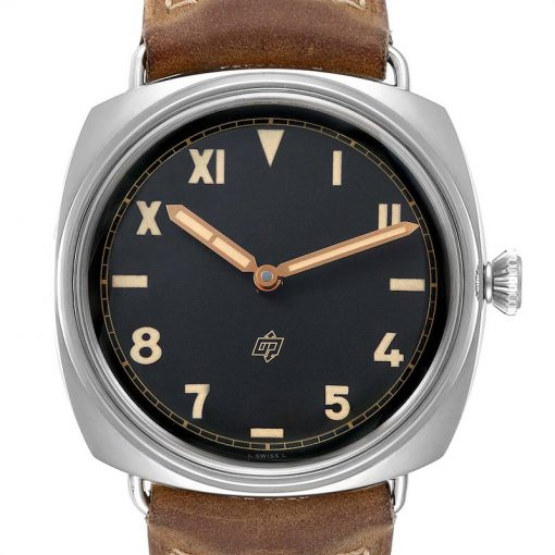 Officine Panerai Radiomir California 3 Days Leather Stainless Steel Men's Watch, PAM00424