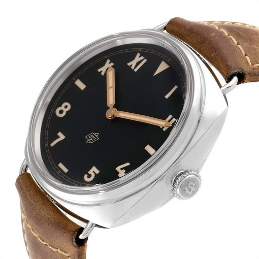 Officine Panerai Radiomir California 3 Days Leather Stainless Steel Men's Watch, PAM00424 4