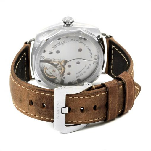 Officine Panerai Radiomir California 3 Days Leather Stainless Steel Men's Watch, PAM00424 2
