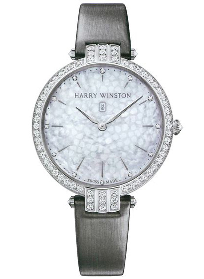 Harry Winston Premier Quartz Diamonds 18K White Gold Ladies Watch, 210/LQ39WL.MD/D3.1-(PRNQHM39WW001)