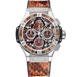 Hublot Big Bang Boa Brown Stainless Steel Ladies Watch preowned.341.SX.7917.PR.1979