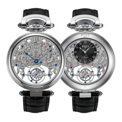 Bovet Fleurier Amadeo 7-day Skeleton Tourbillon White Gold preowned.AIFSQ016