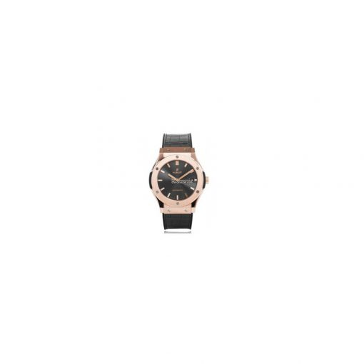 Hublot Classic Fusion 18k Rose Gold Automatic Leather Men's Watch, 511.OX.7081.LR 2