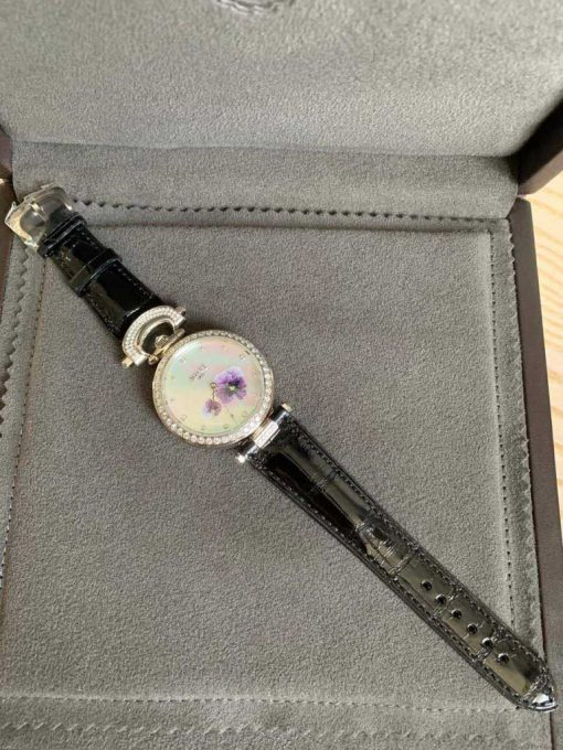 """Bovet Amadeo Fleurier 39mm """"Pansy"""" Ladies Watch in 18K White Gold., AF39010-SD123-LT07 9"""