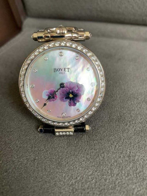 """Bovet Amadeo Fleurier 39mm """"Pansy"""" Ladies Watch in 18K White Gold., AF39010-SD123-LT07 7"""