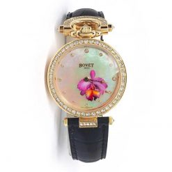 "Bovet Amadeo Fleurier 39mm ""Orchid"" Ladies Watch in 18K red gold AF39015-SD123-LT04"