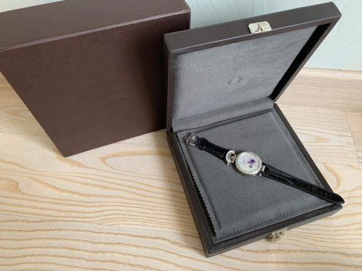"""Bovet Amadeo Fleurier 39mm """"Pansy"""" Ladies Watch in 18K White Gold., AF39010-SD123-LT07 3"""