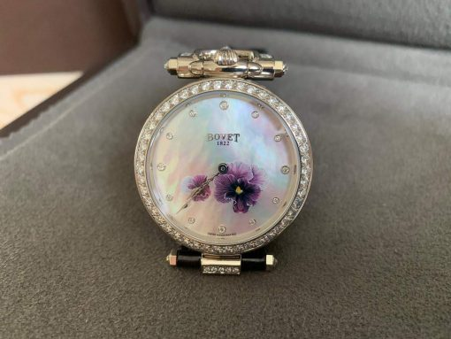 """Bovet Amadeo Fleurier 39mm """"Pansy"""" Ladies Watch in 18K White Gold., AF39010-SD123-LT07 2"""