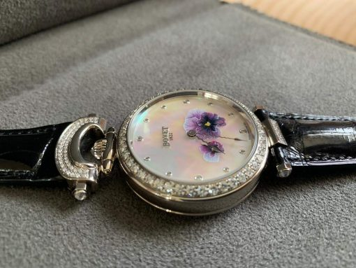 """Bovet Amadeo Fleurier 39mm """"Pansy"""" Ladies Watch in 18K White Gold., AF39010-SD123-LT07 4"""