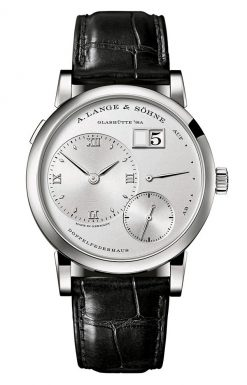 A. Lange and Sohne Lange 1 Platinum Leather Manual Men's Watch 191.025