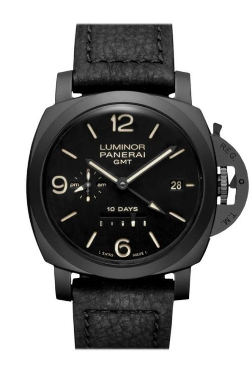 Panerai Luminor 1950 10 Days GMT Ceramic Men's Watch, PAM00335