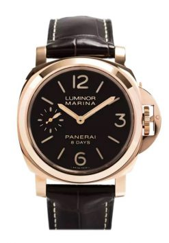 Officine Panerai Luminor Marina 18kt Rose Gold Men's Watch PAM00511