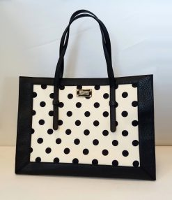 Moschino Large Tote Polka Dot Bag New!, Moschino-Tote Moschino-Tote