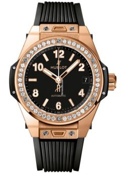 Hublot Big Bang 39mm One Klick Gold Diamonds Automatic Watch 465.OX.1180.RX.1204