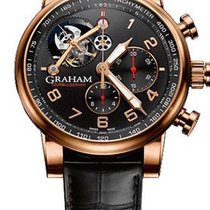 Graham Silverstone Tourbillograph Limited Men`s Watch, Pre.owned_2TSARB04A