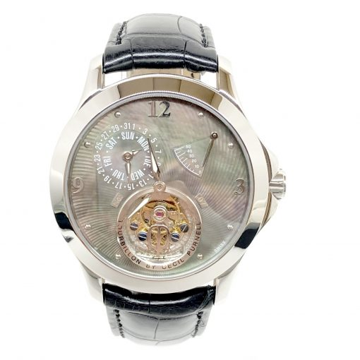 Cecil Purnell Tourbillon Stainless Steel Watch Limited Edition, 30230