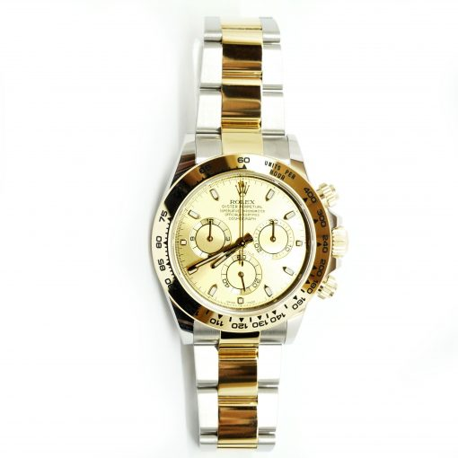 Rolex Oyster Perpetual Cosmograph Daytona Stainless Steel & 18K Yellow Gold Watch, 116503 chs