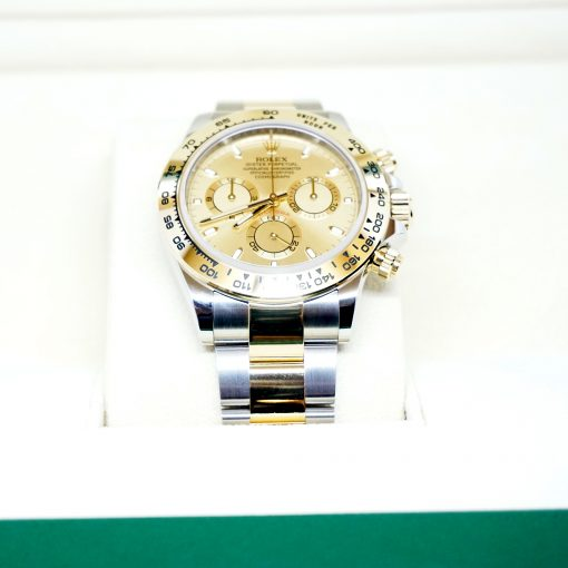 Rolex Oyster Perpetual Cosmograph Daytona Stainless Steel & 18K Yellow Gold Watch, 116503 chs 5