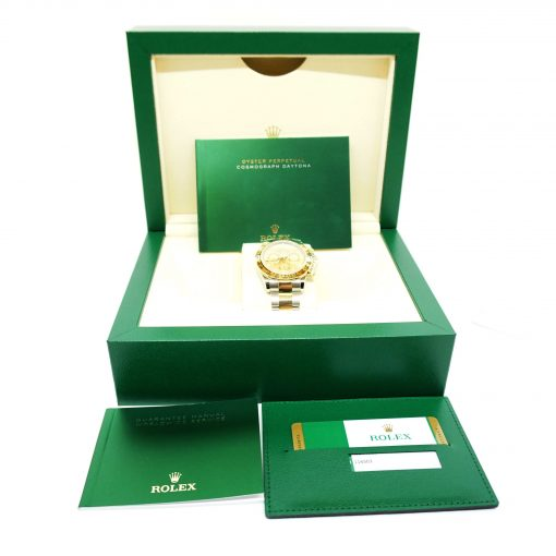 Rolex Oyster Perpetual Cosmograph Daytona Stainless Steel & 18K Yellow Gold Watch, 116503 chs 4