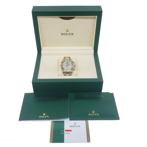 Rolex Oyster Perpetual Cosmograph Daytona Stainless Steel & 18K Yellow Gold Watch, 116503-md 3